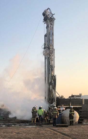 Drilling at Bweengwa River 2020